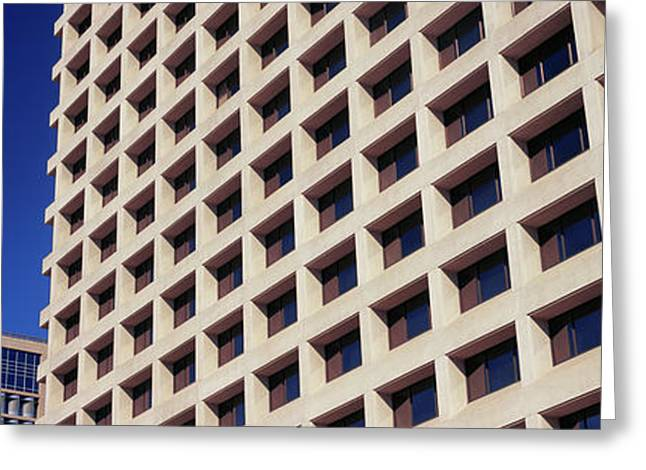 Low Angle View Of Buildings, Phoenix Greeting Card