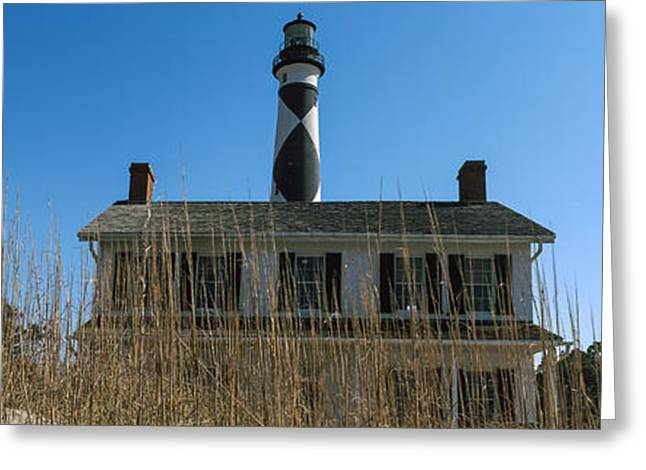 Low Angle View Of Cape Lookout Greeting Card by Panoramic Images
