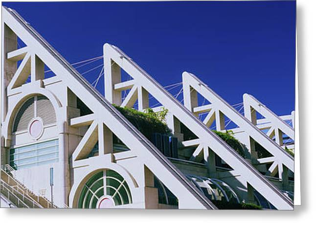 Low Angle View Of San Diego Convention Greeting Card