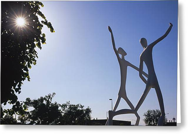Low Angle View Of Sculptures, Colorado Greeting Card by Panoramic Images