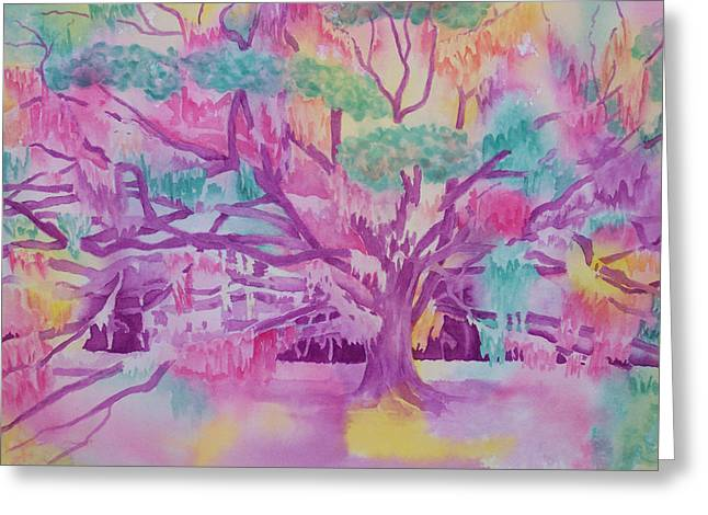Low Country Rainbow Greeting Card