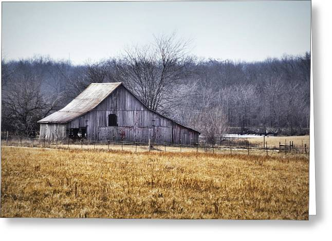 Low Crossings Barn Greeting Card