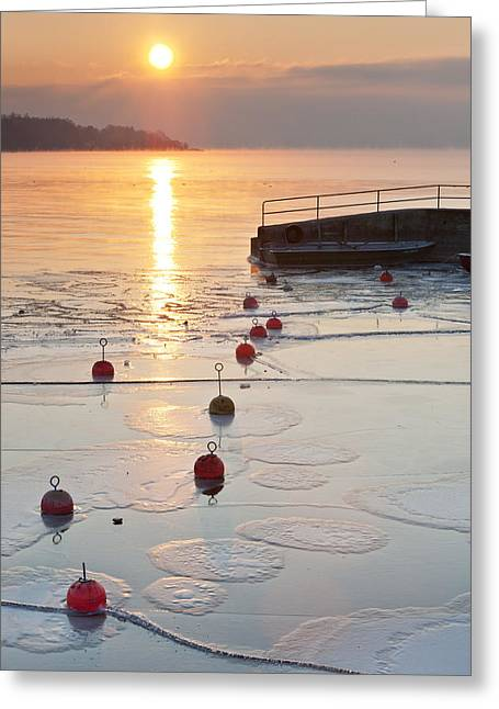 Low Season Greeting Card by Holger Spiering