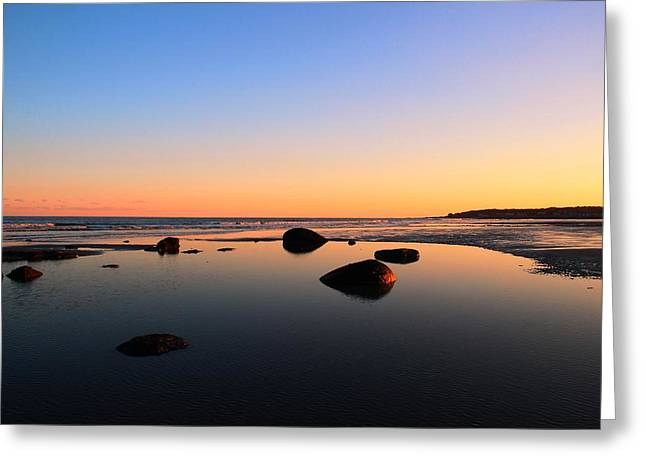 Low Tide Greeting Card by Andrea Galiffi