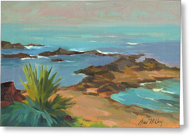Low Tide Greeting Card by Diane McClary