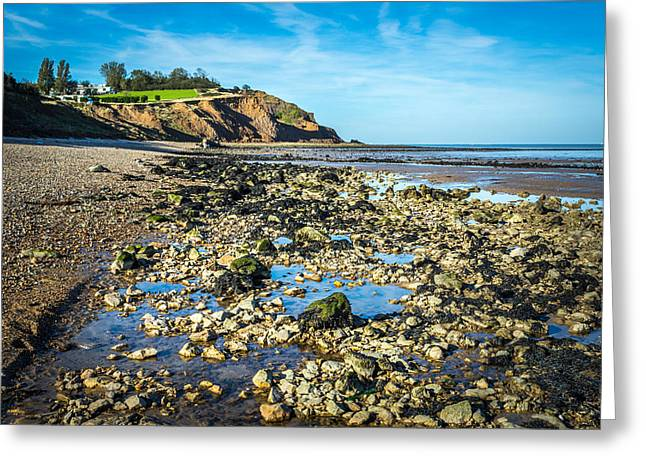 Low Tide. Greeting Card