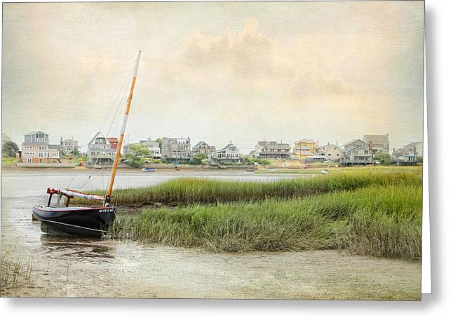 Low Tide On The Basin Greeting Card