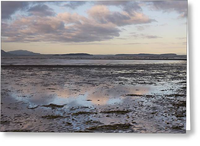 Low Tide Reflections Greeting Card by Priya Ghose