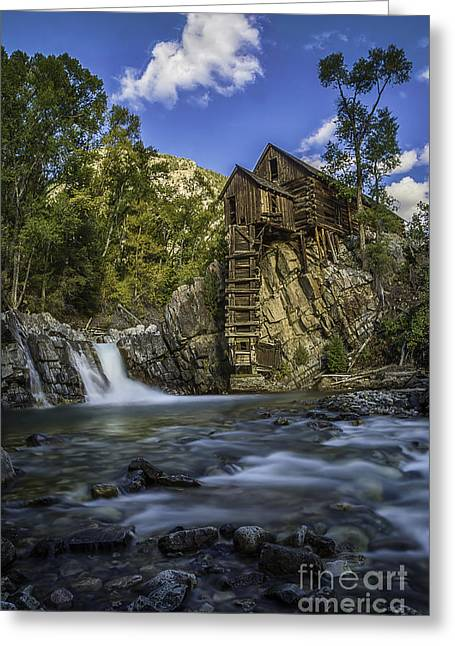 Lower Crystal Mill  Greeting Card