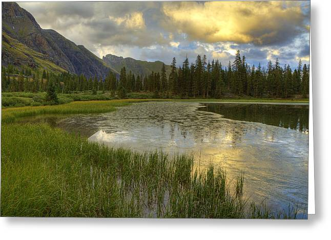 Lower Ice Lake Greeting Card