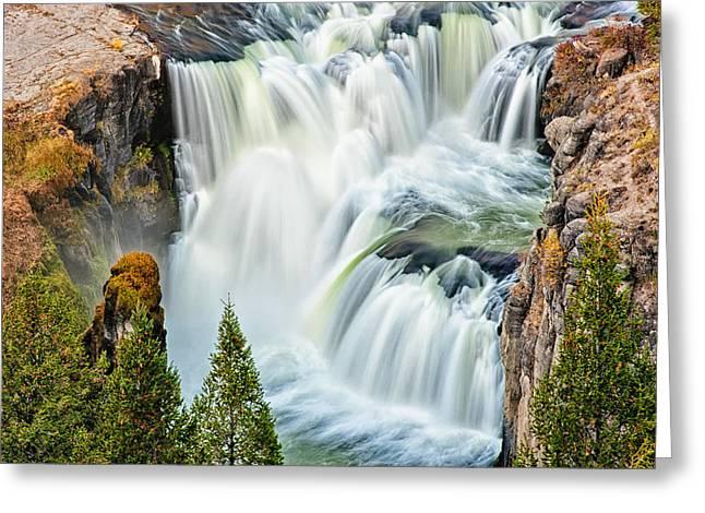 Lower Mesa Falls Greeting Card