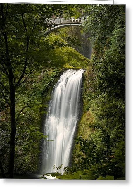 Lower Multnomah Falls Greeting Card