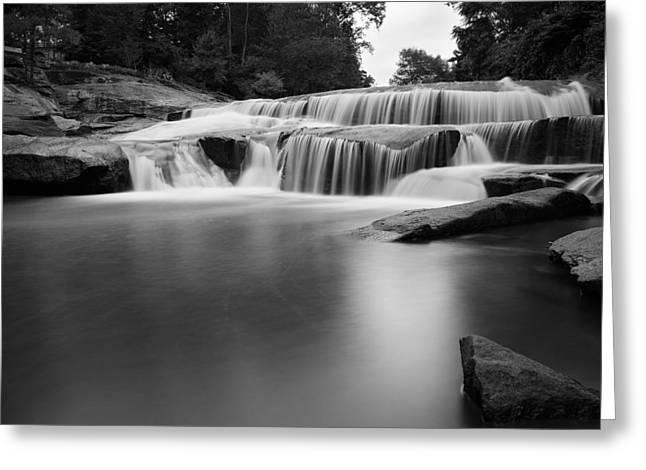 Lower Reedy River Falls. Greeting Card