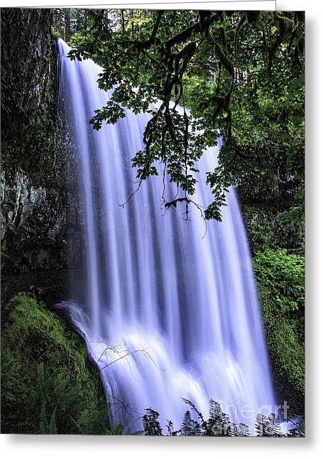 Lower South Falls IIi Greeting Card