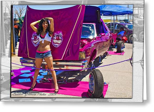 Lowrider_18 Greeting Card