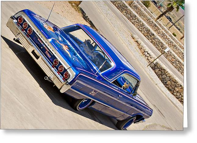 Lowrider_19d Greeting Card
