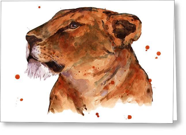 Loyal Lion Greeting Card