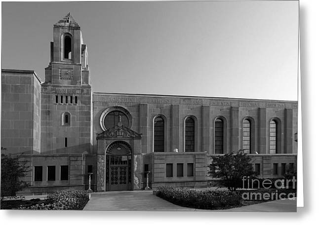 Loyola University Cudahy Library Greeting Card by University Icons