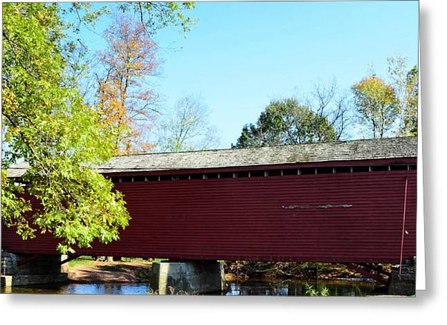 Loy's Station Covered Bridge Greeting Card