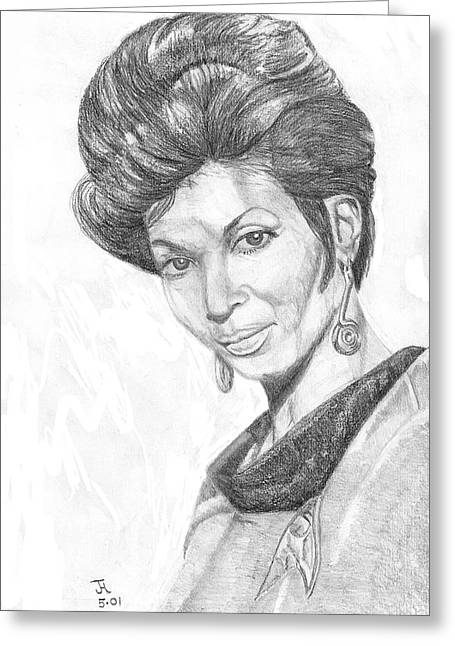 Lt. Uhura Greeting Card
