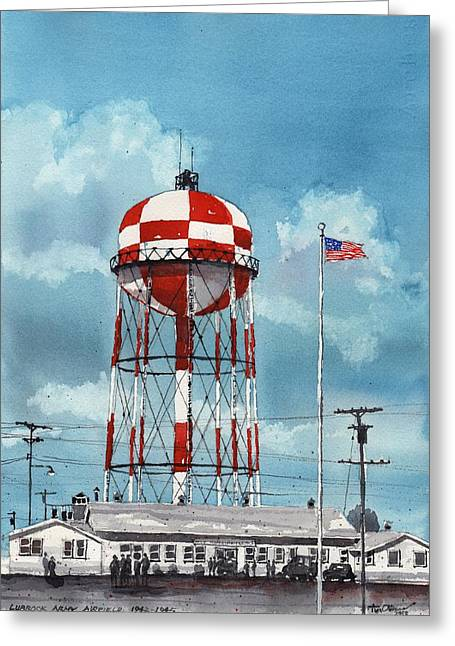 Lubbock Army Airfield Texas Greeting Card by Tim Oliver