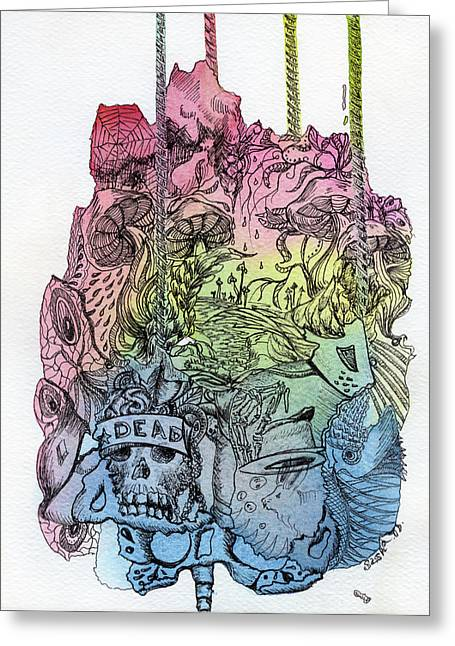 Lucid Mind - 11 Greeting Card