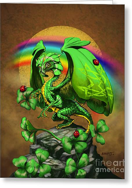 Luck Dragon Greeting Card