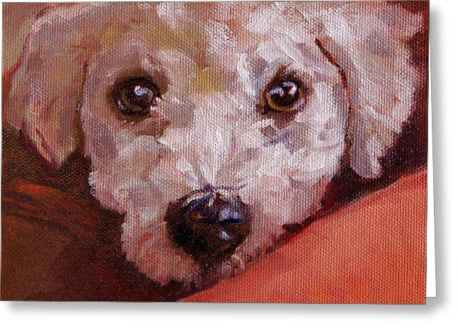 Lucky Greeting Card by Pattie Wall