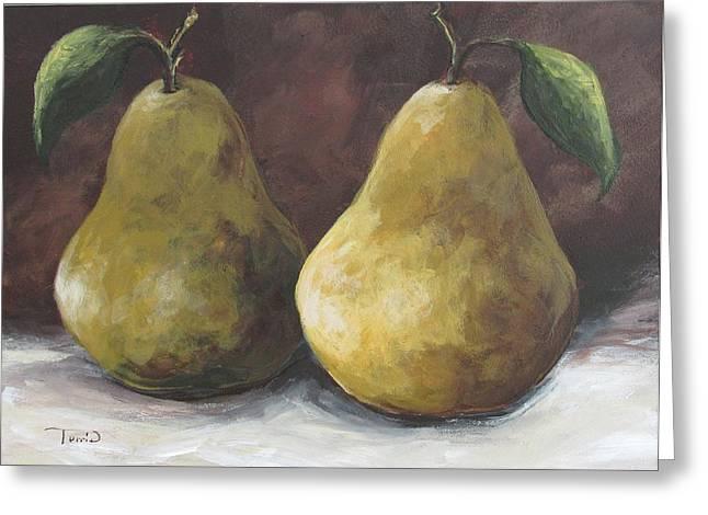 Lucky Pears II Greeting Card