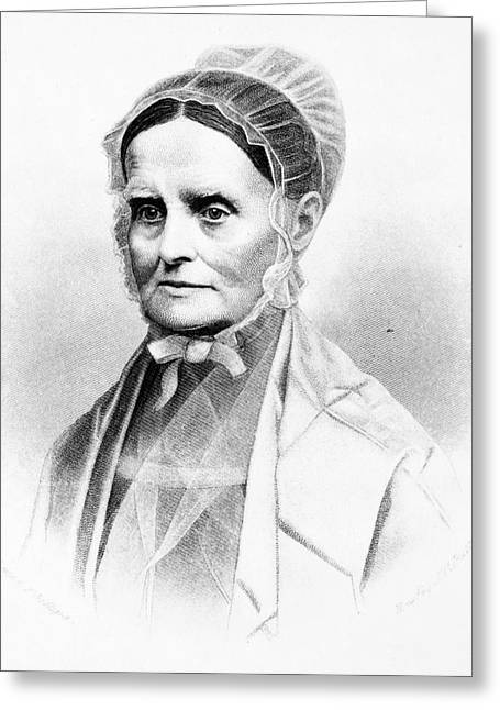 Lucretia Coffin Mott (1793-1880) Greeting Card