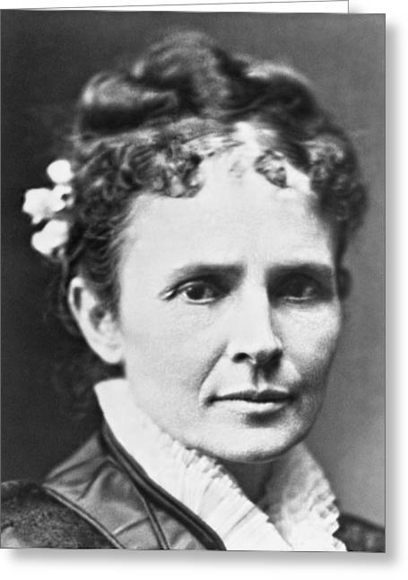 Lucretia Rudolph Garfield Greeting Card
