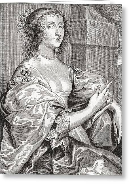 Lucy Hay, Née Percy, Countess Of Carlisle, 1599 –1660.  English Courtier. After The Portrait Greeting Card by Bridgeman Images