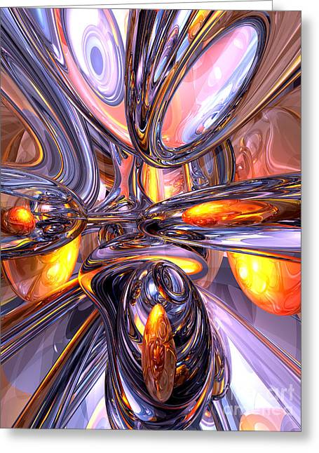 ludicrous Voyage Abstract Greeting Card