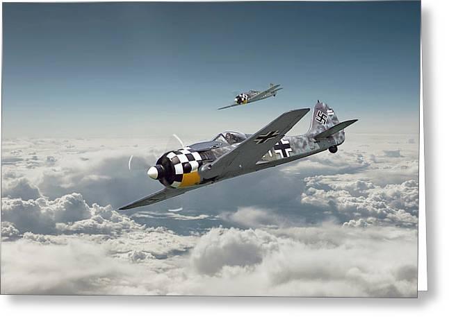 Luftwaffe - Fw190 Greeting Card
