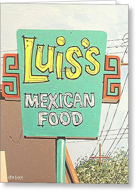 Luis's Greeting Card by Paul Guyer