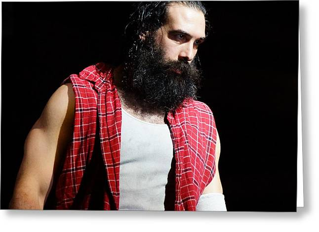Luke Harper Greeting Card by Paul  Wilford