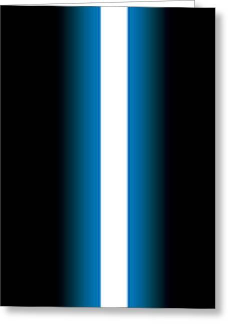 Luke's Lightsaber I Greeting Card