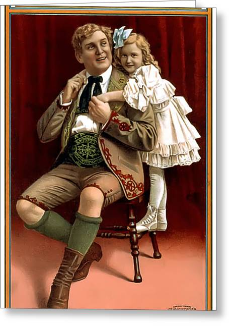 Lullaby Yodel Greeting Card by Terry Reynoldson