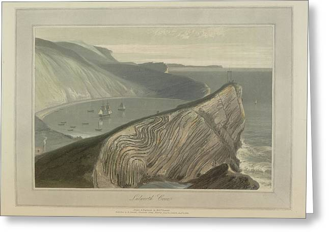 Lulworth Cove Greeting Card by British Library