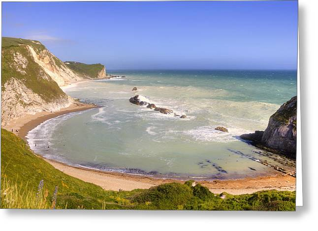 Lulworth Greeting Card by Joana Kruse