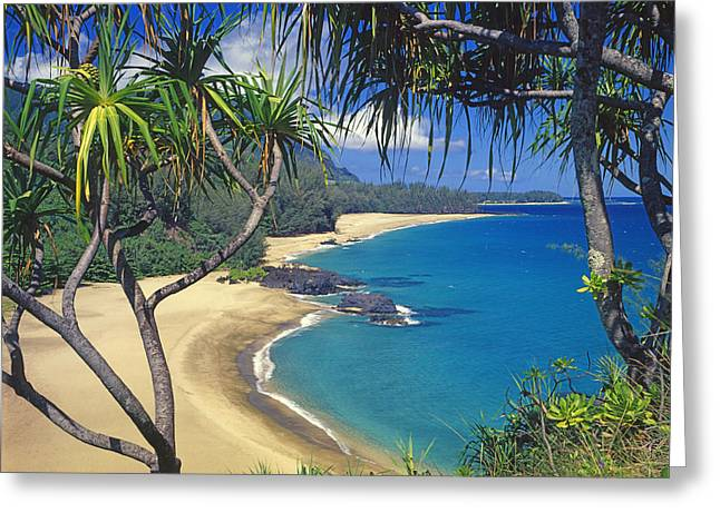 Lumahai Beach Greeting Card