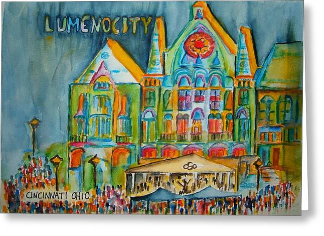 Lumenocity  Greeting Card