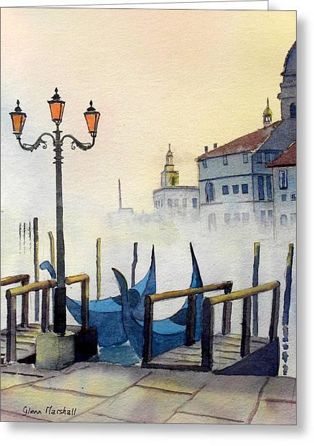 Lumi Di Candelbro Greeting Card
