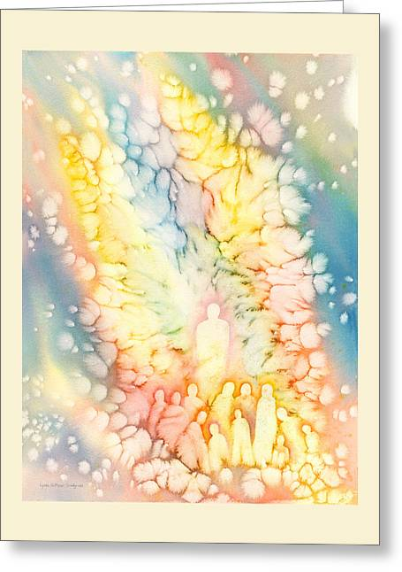 Luminaries Greeting Card by Lynda Hoffman-Snodgrass