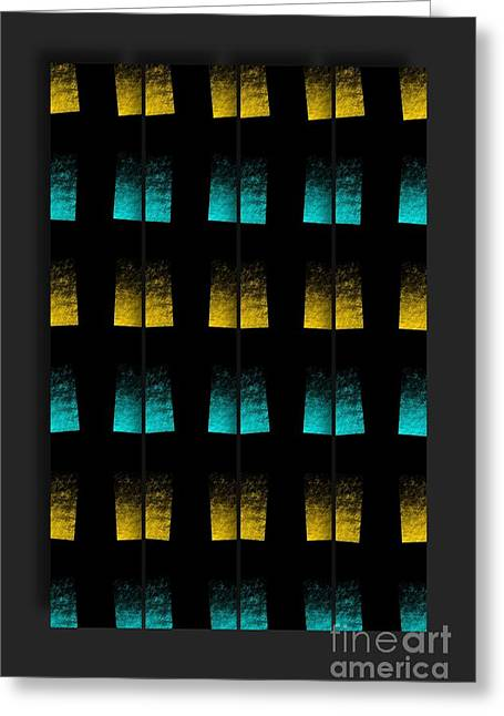 Greeting Card featuring the digital art Luminescence 7a by Darla Wood