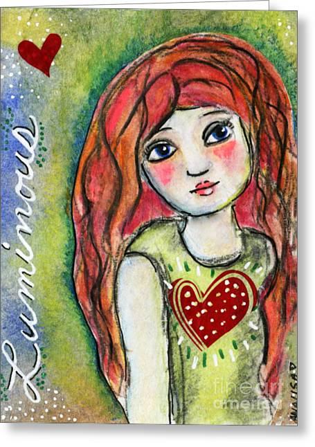Luminous Greeting Card