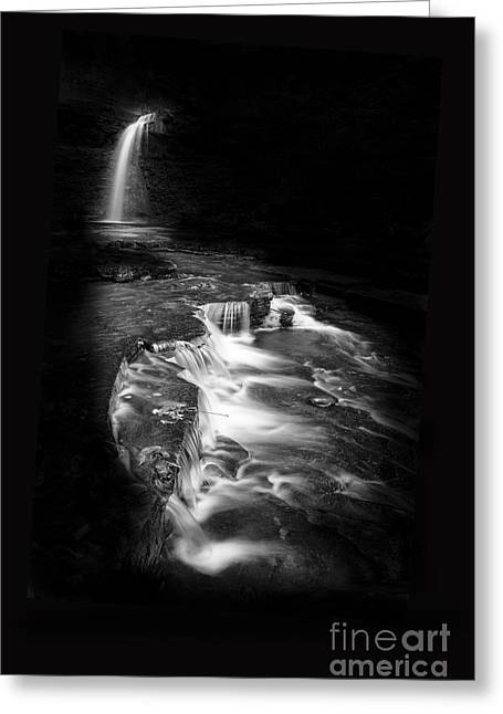 Luminous Waters Vi Greeting Card by Michele Steffey