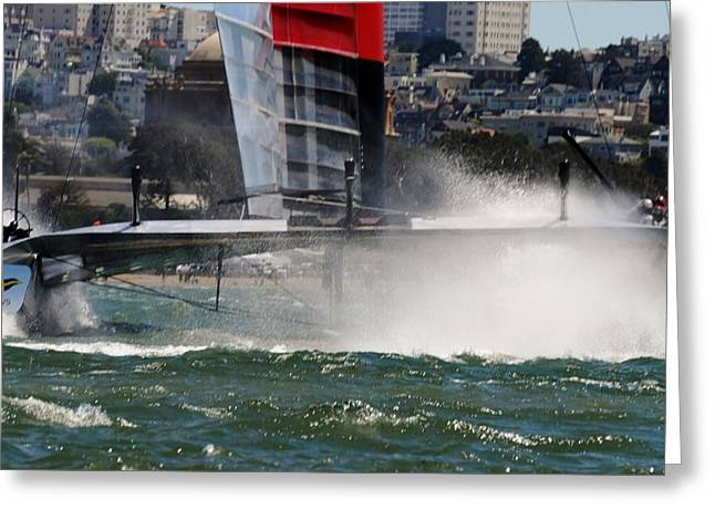 Luna Rossa Series Lv 2013 E Greeting Card