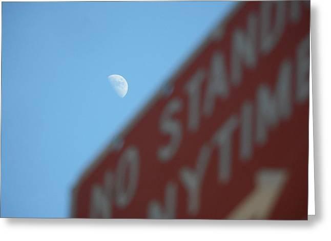 Lunar Destination Greeting Card by Peter Pier