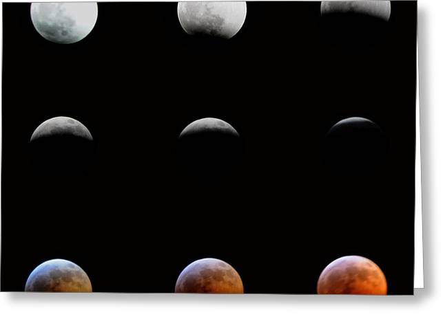 Lunar Eclipse Greeting Card